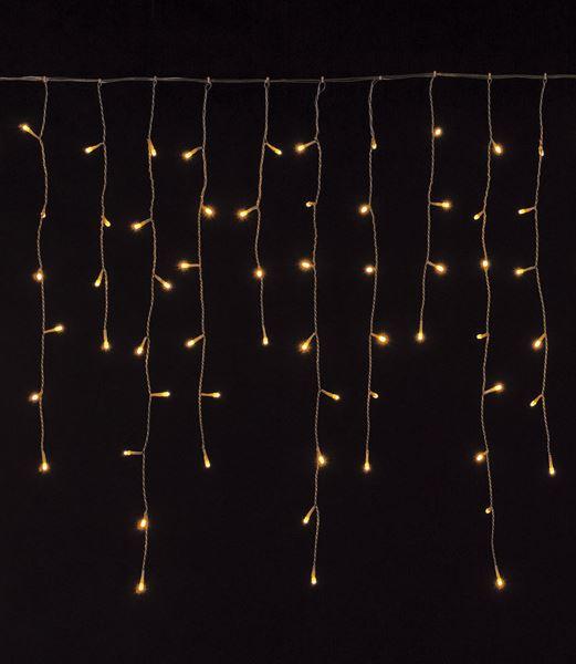 ★クリスマス電飾 耐水216球広角型LEDシャンペーンアイスクルライト/クリアコード(8機能コントローラー付) [DILI61064]