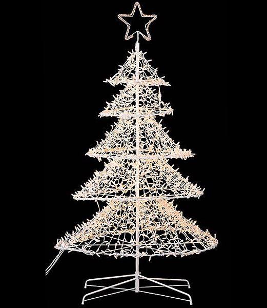 立体スターツリーライト2800球/常点灯 クリスマスイルミネーション 電飾 耐水210cm [DILI6059]