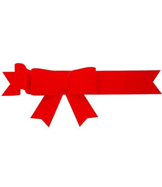 240cm幅 フロックボウ クリスマスツリー飾り ボウ リボン [PARI6260]
