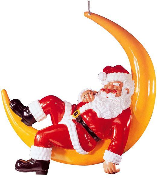 ★クリスマス装飾 飾り付け 小物 210cm サンタオンザムーン [FGSA6003]