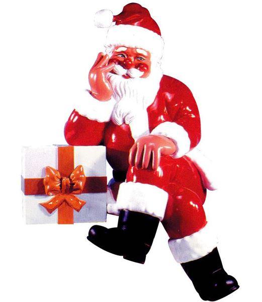 ★クリスマス装飾 飾り付け 小物 190cm サンタギフトボックス [FGSA6001]