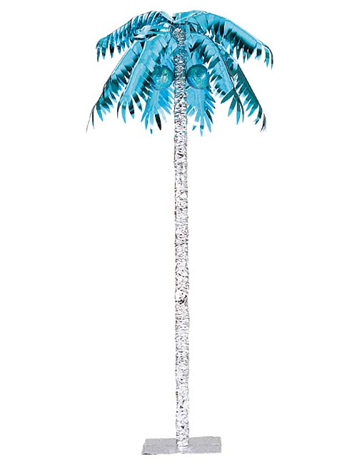 240cmメタリックパームツリー(スタンド付き) サマー マリン装飾デコレーション [DEDE3930]【フェイク 作り物 飾り 夏 マリン サマー】 代引決済不可