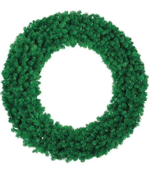 ★クリスマスリース 装飾 観葉植物 防炎150cmニューノーブルリッチリース×680 [PAWR6932]