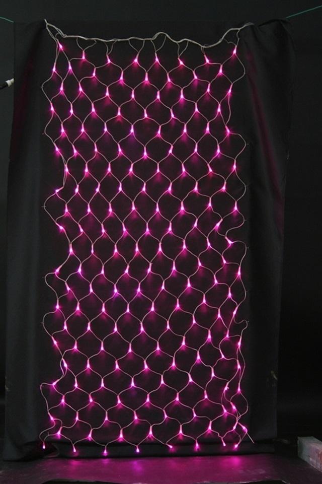 店舗装飾 ライト・イルミネーション LEDネットライト LEDネットライト(PI)連結用クリアコード[MRSMSH3537] クリスマス クリスマスツリー デコレーション 店舗装飾 飾り 飾りつけ 飾り付け ライト 電飾 イルミネーション LED ネット ピンク