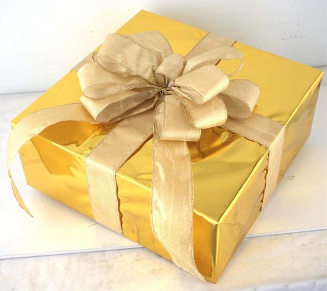 店舗装飾 クリスマス商品 ギフトボックス LLサイズ 物品 ゴールド MRS15-12701 クリスマス 商品 クリスマスツリー ギフトボック 装飾 デコレーション プレゼント 飾り 飾り付け 飾りつけ