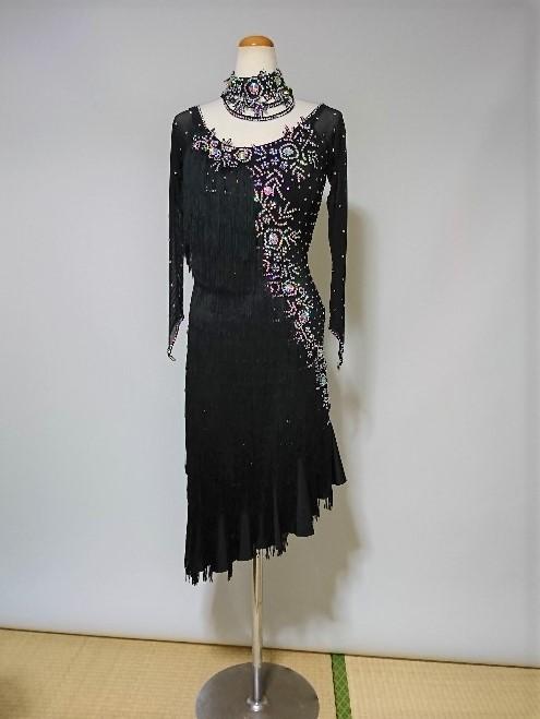 <レンタル>衣装・社交ダンスドレス Mサイズv0150k