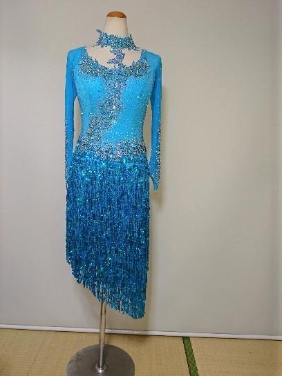 <レンタル>衣装 社交ダンス ドレス Lサイズz141B