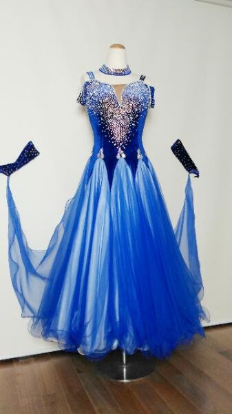 社交ダンス 衣装 ドレス