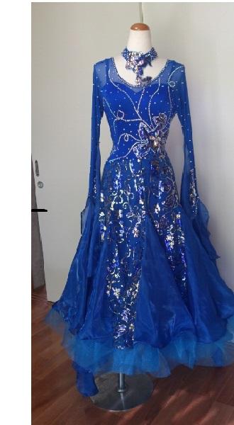 <レンタル>衣装 社交ダンス 社交ダンス ドレスB157 Lサイズ Lサイズ, シングウマチ:4654c30b --- kutter.pl