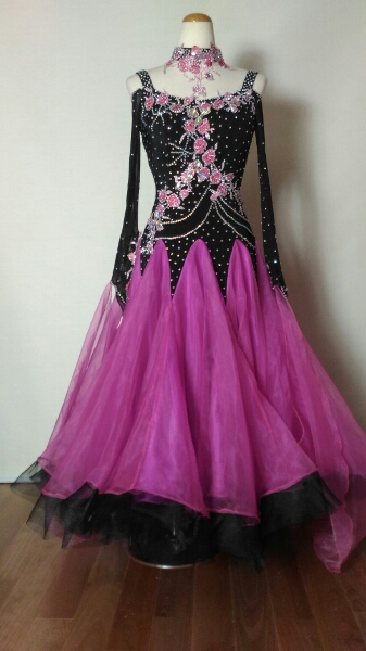 <レンタル>衣装・カラオケ・社交ダンスドレス Mサイズ z046, インポートショップLARIA:932b332c --- kutter.pl
