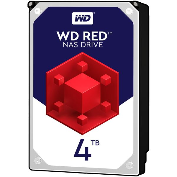 WESTERN DIGITAL WD Redシリーズ 3.5インチ内蔵HDD 4TB SATA6.0Gb/sIntelliPower 64MB_送料無料