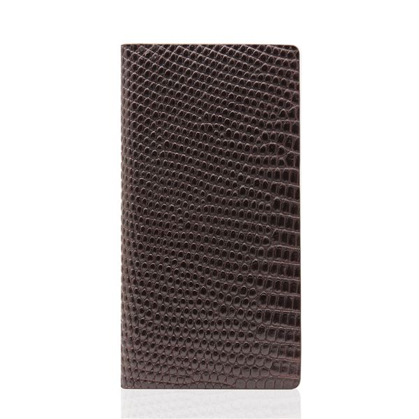SLG Design iPhone6/6S Lizard Case ブラウン_送料無料