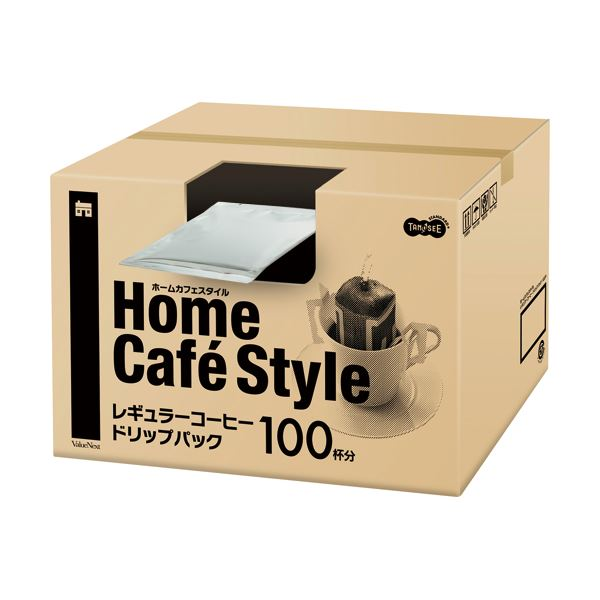TANOSEE Home Cafe Style ドリップパック 6.5g 100袋入 【×10セット】_送料無料