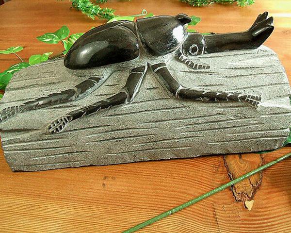 上等な 昆虫マニア必見 りょう石! リアルなカブトムシの置物(送料無料) りょう石, 業務用厨房機器のKITCHEN MARKET:4d1510b0 --- canoncity.azurewebsites.net