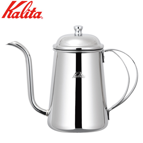 毎日のコーヒーをお洒落に愉しむ。 JAN:4901369507512 カリタ Kalita コーヒーケトル 細口 ポット 0.7L 52055 JAN: 4901369507512
