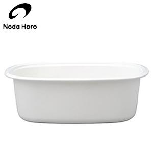 新品 シンクでのスペースを有効利用 持ちやすい安心の使い心地です JAN:4976045063002 野田琺瑯 レビューを書けば送料当店負担 楕円型 洗い桶 JAN: 4976045063002 WA-O