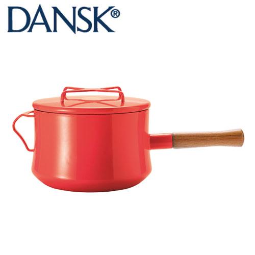 DANSK ダンスク コベンスタイル 片手鍋 18cm 深型チリレッド JAN: 4905689596935【送料無料】【あす楽】
