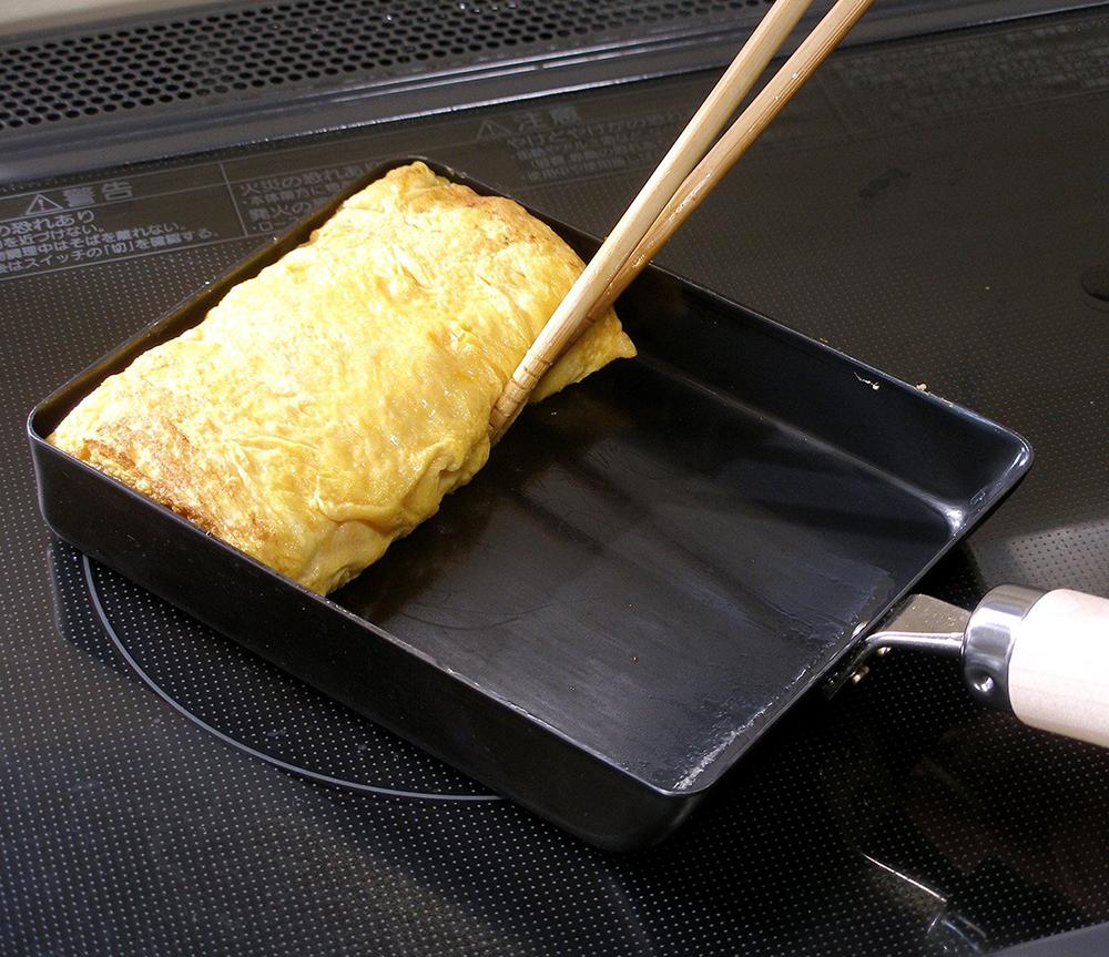 リバーライト 極 JAPAN たまご焼き 大(L) [鉄 フライパン 玉子焼き器] JAN: 4903449125159