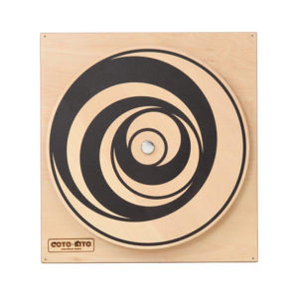 COTO-KITO 壁掛玩具 くらんくらん CG-0006 子供用知育玩具 思考能力 遊ぶ 学び 触れる 好奇心 壁掛け玩具 木製手作り玩具 コトキト 代引き不可