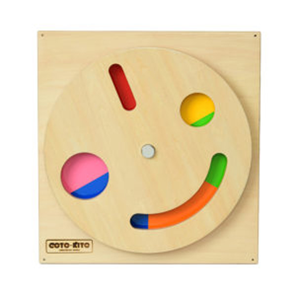 COTO-KITO 壁掛玩具 なにいろ CG-0027 子供用知育玩具 思考能力 遊ぶ 学び 触れる 好奇心 壁掛け玩具 木製手作り玩具 コトキト 代引き不可