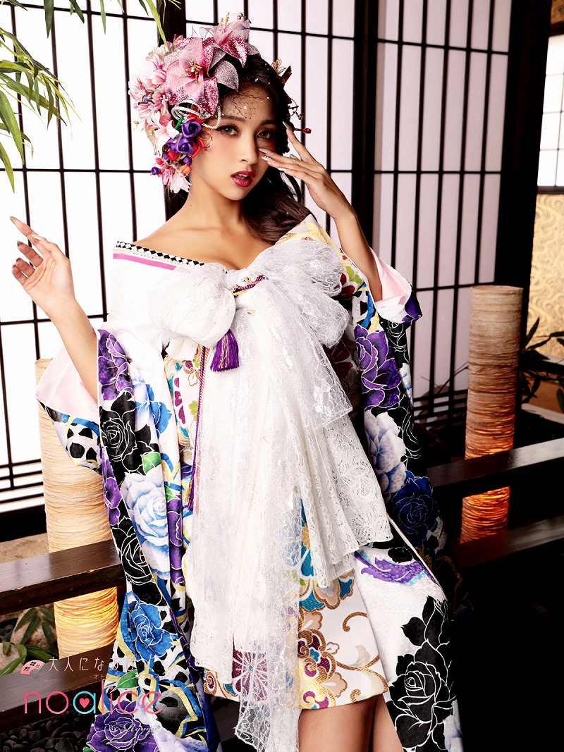 着物 和装 レディース 女性 着物セット noalice 花魁 着物 セクシー 和柄 振袖 送料無料