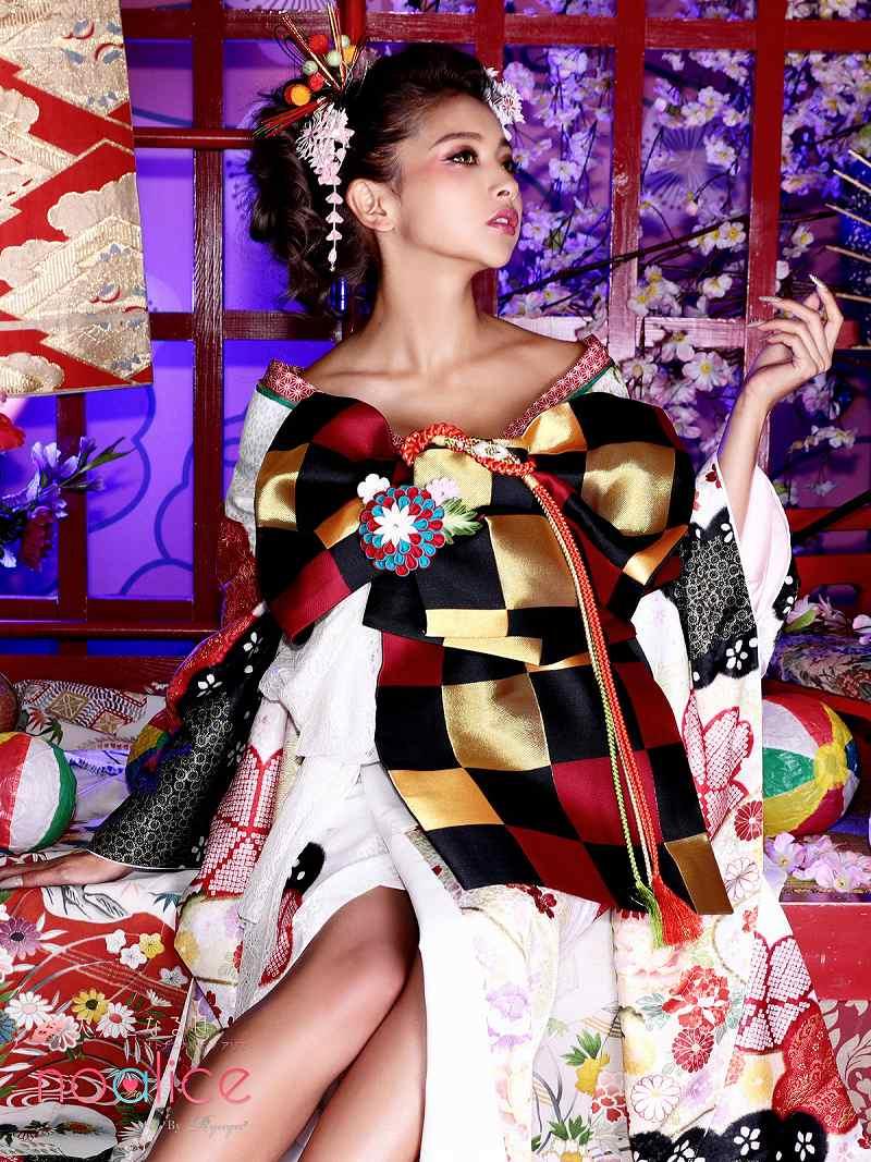 着物 和装 レディース 女性 着物セット noalice OEO 白地 桜 菊 送料無料