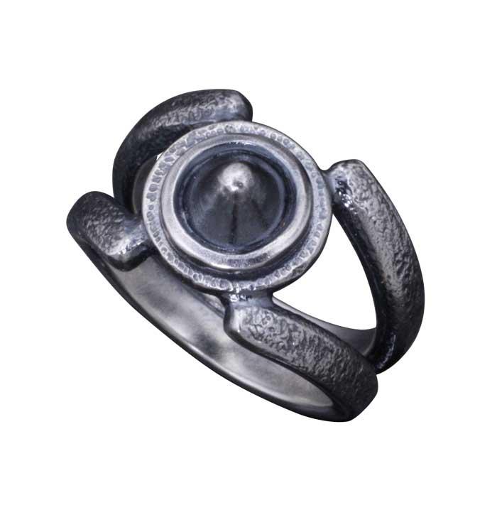メンズ 指輪 龍頭 岩石 霰 スタッズ シルバー リング 和柄 和風 ハンドメイド 男性用 送料無料 10~25号