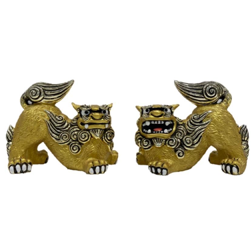 沖縄 シーサー 守り神 置物 かわいい 買物 黄金獅子 商舗 おしゃれ