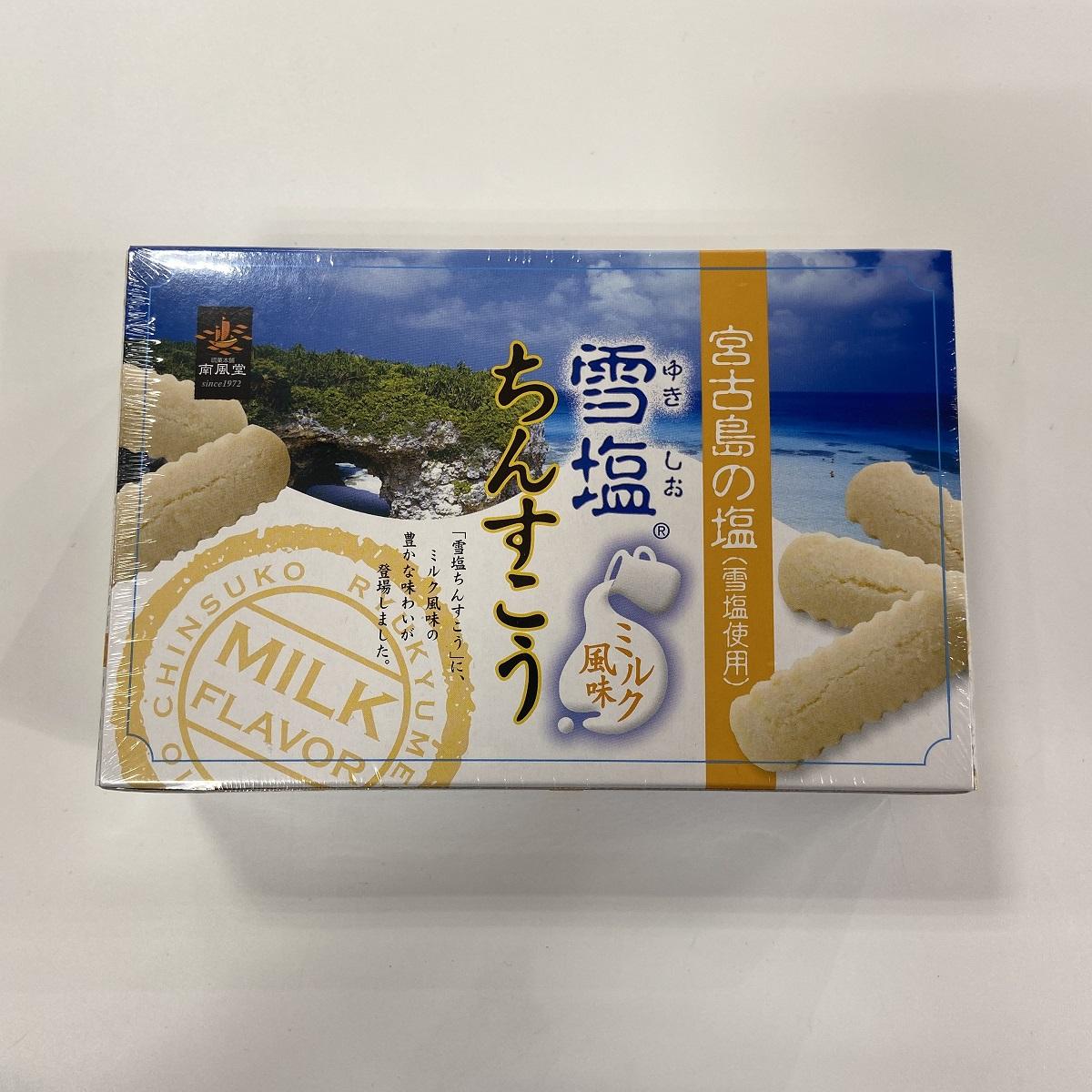 メーカー:南風堂 発売日:2015年02月10日 南風堂 ミルク風味 定番から日本未入荷 2個X12 雪塩ちんすこう 5%OFF
