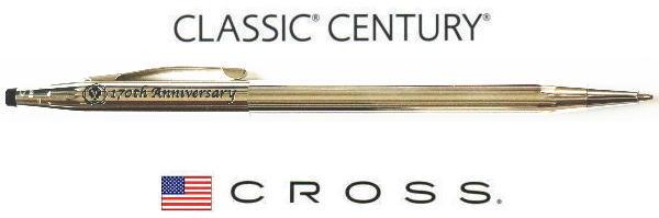 【ボールペン クロス】クラシックセンチュリー170周年ギフトセットスターリングシルバー
