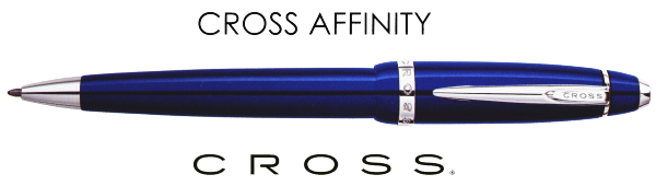 【ボールペン クロス】アフィニティ ブルー