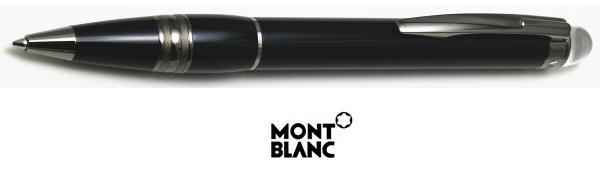 【ボールペン モンブラン 送料無料】スターウォーカー 25690 ミッドナイトブラックレジン