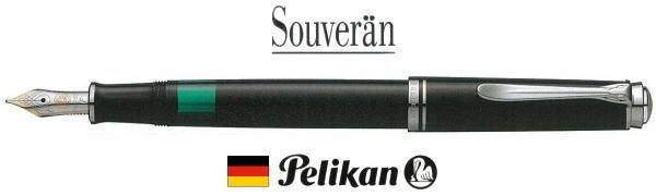 【万年筆 ペリカン 送料無料】スーベレーン M405シルバートリム ブラック