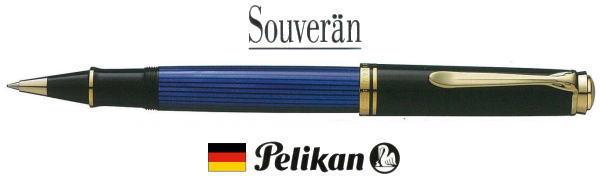 【ローラーボール ペリカン 送料無料】スーベレーン R800ブルー縞