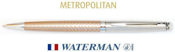 【ボールペン ウォーターマン】メトロポリタンデラックス ローズウェーブCT