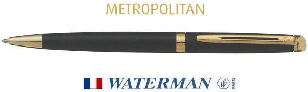 ウォーターマン ボールペン ショッピング メトロポリタン エッセンシャル チープ ブラックGT