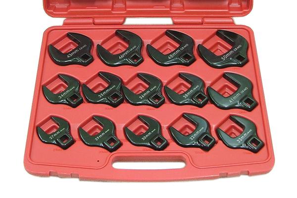 14pc クローフットレンチセット 大きめサイズ27~50mm H035