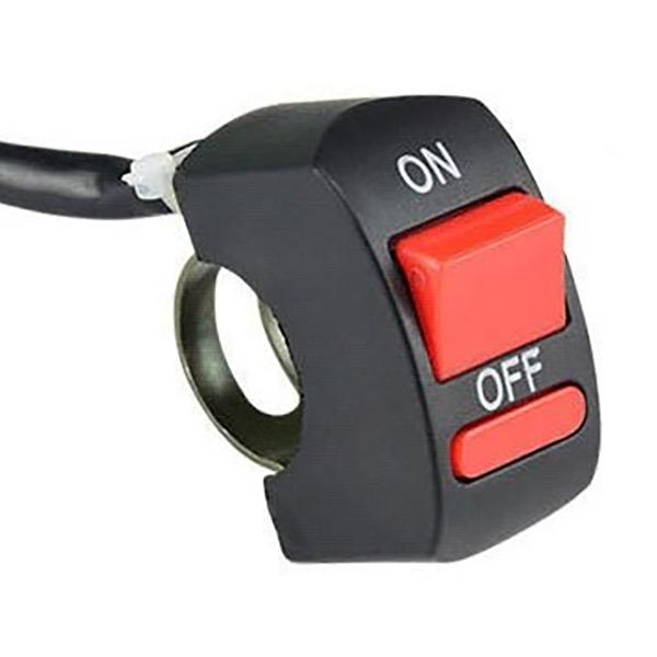 選択 格安店 ネコポス限定 ハザードスイッチ バイク用ハザード ON スイッチ YZD005 OFF