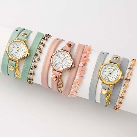 腕時計/レディース/春/着けるだけで手元のおしゃれが完成するLA MER COLLECTIONSのラグジュアリーウォッチ。LA MER COLLECTIONS(ラ・メール コレクションズ)時計(~) ryuryu/リュリュ らなん 30代 ファッション レディース 40代