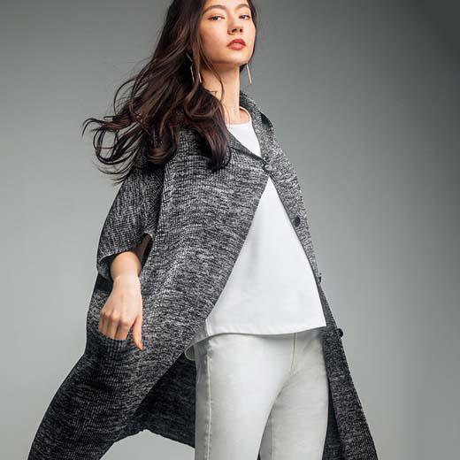 ショートコート M~LLシャトルプリーツフーディコーディガン ryuryu リュリュ 秋冬 秋服 レディース 40代 ファッション