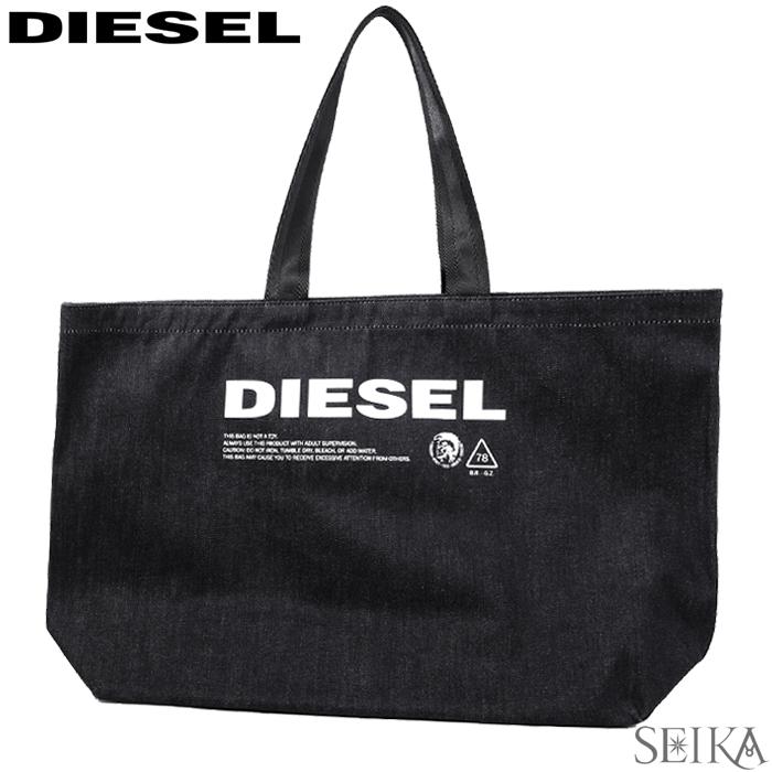 ディーゼル DIESEL トートバッグX05513 PR413 T6065 (216)ブラックD-THISBAG SHOPPER L 通勤 通学 鞄 かばん バッグ メンズ