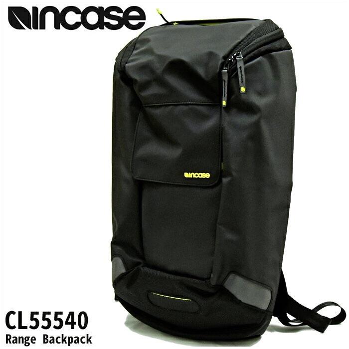 【クリアランス】INCASE インケース Range Backpack【7】CL55540 リュックブラック メンズ レディース通勤 通学 鞄 かばん 【ID】【G2】