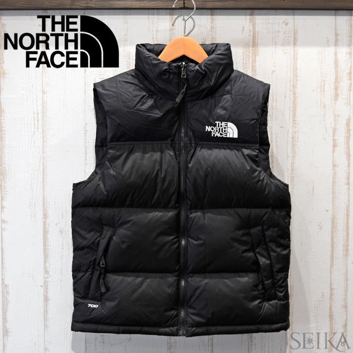 ノースフェイス THE NORTH FACE メンズ ダウンベストNF0A3JQQ JK3 ブラック(3)M 1996 RETRO NUPTSE 1996レトロ ヌプシ ベストUSAモデル USサイズ