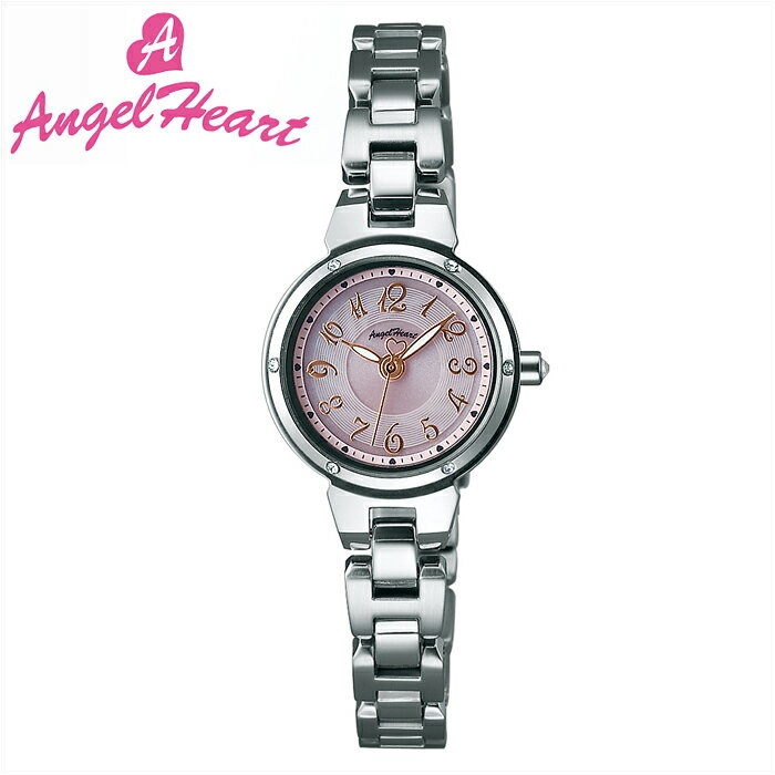 (ショップ袋付)エンジェルハート Angel Heartクリスタルブルーム 時計 腕時計 レディースCB22SS ソーラー電池 ピンク シルバー (ty1)
