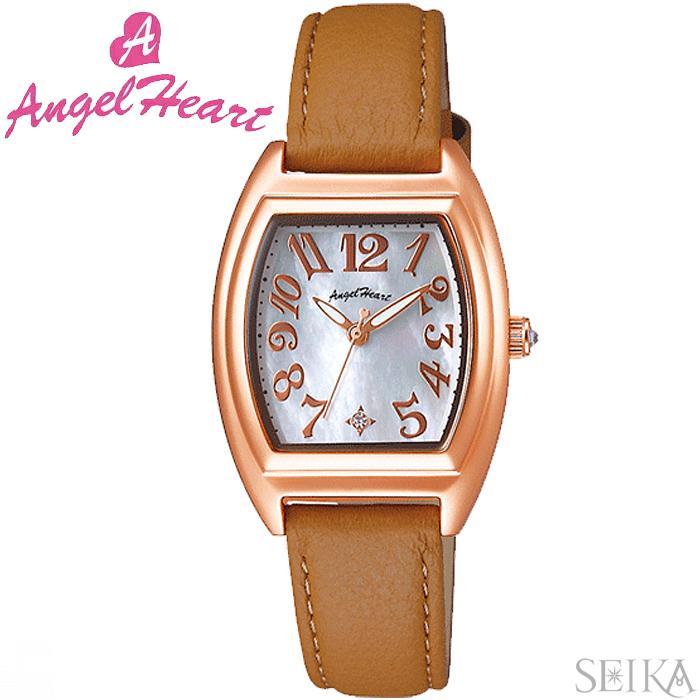 (ショップ袋付)エンジェルハート ANGEL HEARTファーストスター FS26P-BR時計 腕時計 レディース ブラウン レザー(ty1)