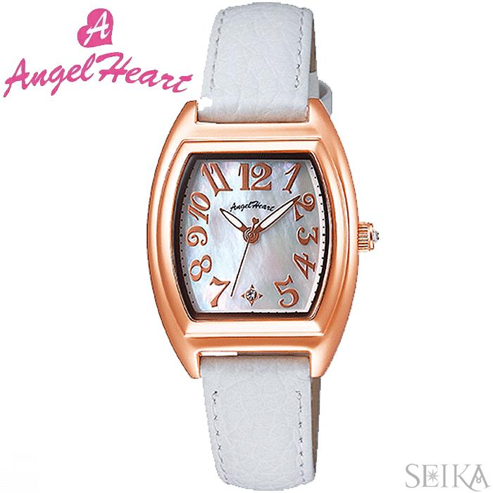 (ショップ袋付)エンジェルハート ANGEL HEARTファーストスター FS26P-WH時計 腕時計 レディース ホワイト レザー(ty1)