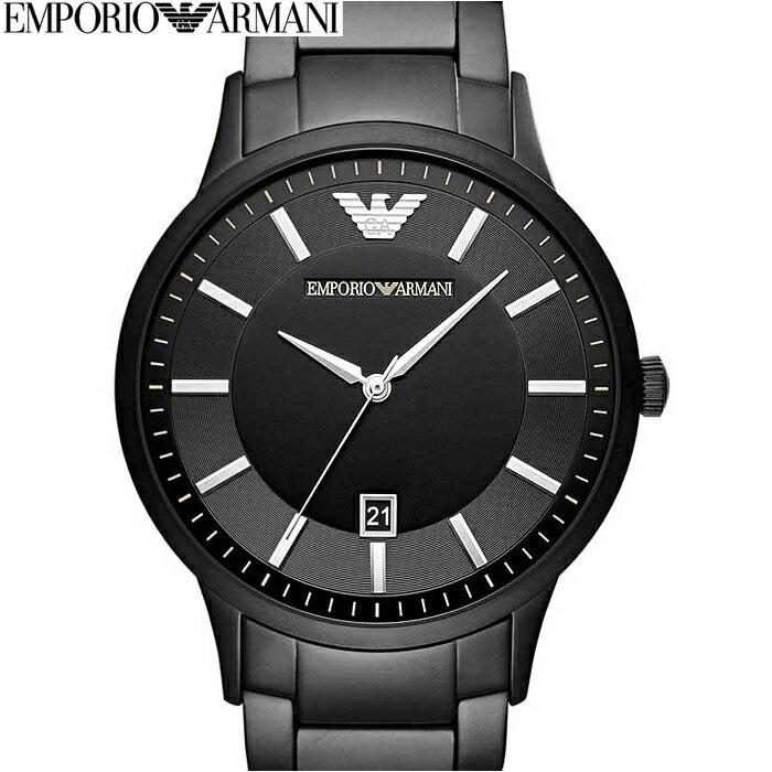 エンポリオアルマーニ EMPORIOARMANI AR11079時計 腕時計 メンズオールブラック