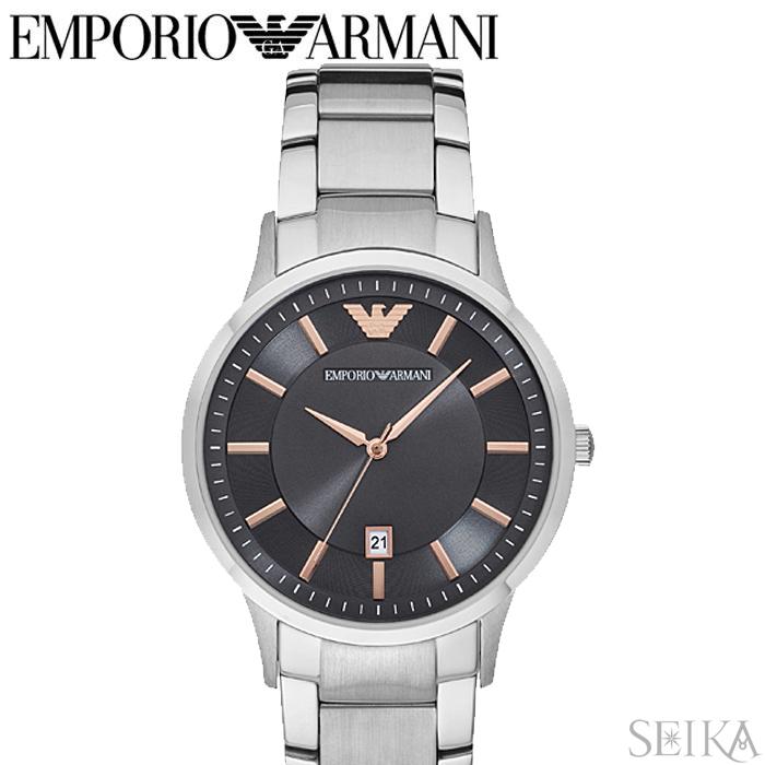 エンポリオアルマーニ EMPORIO ARMANI AR2514時計 腕時計 メンズ シルバー
