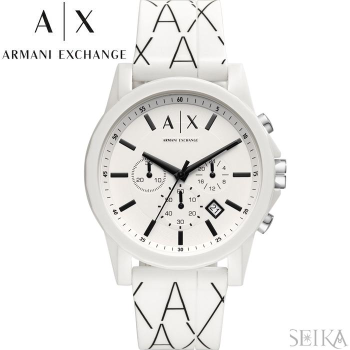 アルマーニエクスチェンジ ARMANI EXCHANGE AX1340時計 腕時計 メンズ ホワイト ラバー