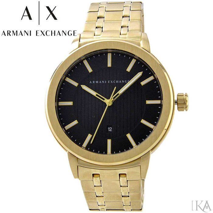【レビューを書いて5年保証】【スプリングクリアランス】アルマーニエクスチェンジ ARMANI EXCHANGE AX1456時計 腕時計 メンズ ゴールド 父の日